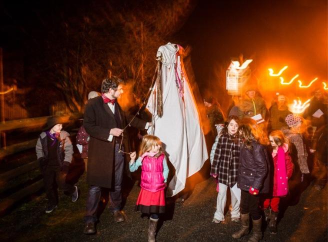 The 'Mari Lwyd' welsh new year tradition