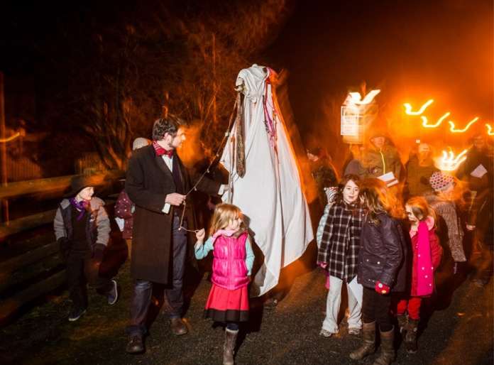 The 'Mari Lwyd' welsh new year tradition